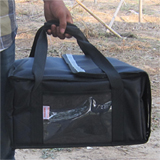 "PK-29V: Bag pizza, 14 inch pizza delivery hot bags, dinner take out handbag, keep hot, 15"" L x 14"" W x 7"" H"