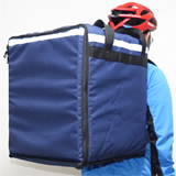 "PK-76PB: Pizza bag delivery, heat insulated carrier, meal delivery backpack, 16"" L x 15"" W x 18"" H"