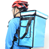 PK-33VLB: Food warm bags, small pizza delivery backpack, keep hot, Top Loading, 13